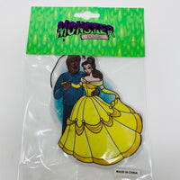 Beauty and the wolfman air freshener