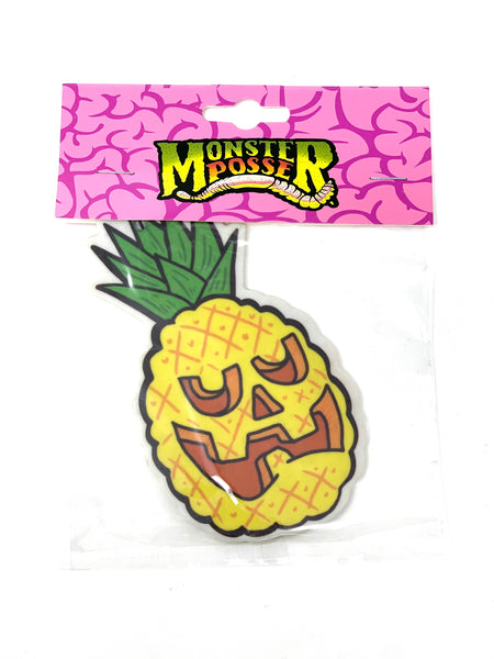 Pineapple Face air freshener