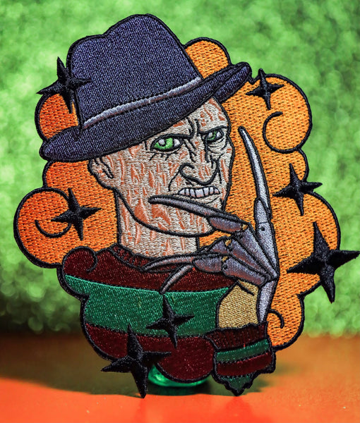 Kawaii Krueger embroidered Patch