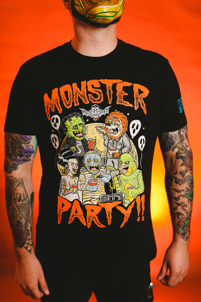 Monster Party shirt