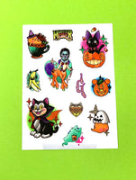 Spoopyween Sticker Sheet