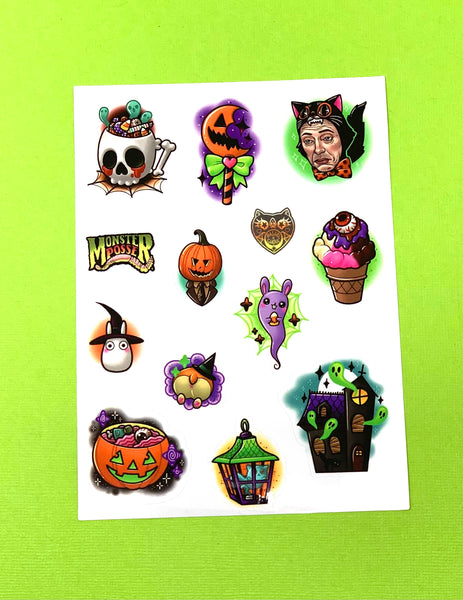 Treats And Ghouls Sticker Sheet