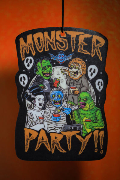 Monster Party air freshener