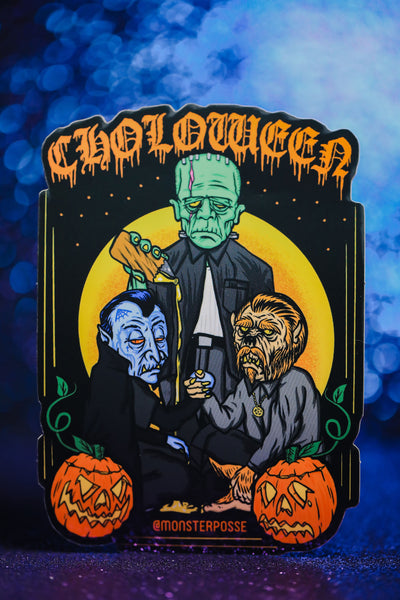 Choloween sticker