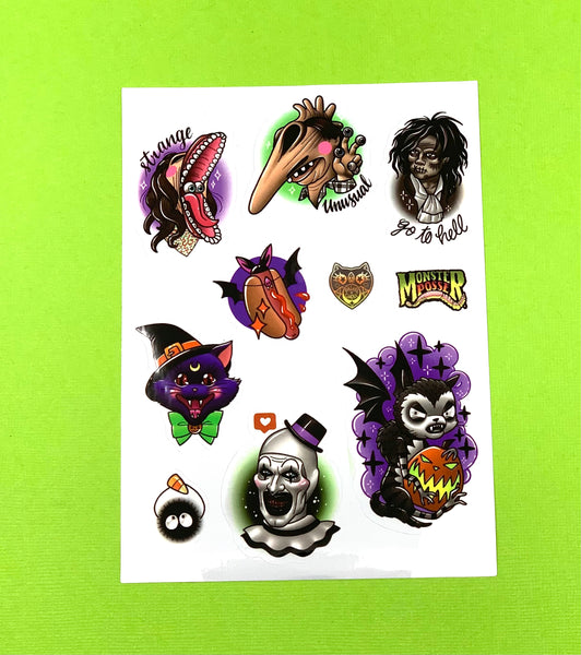 Go To Hell Sticker Sheet