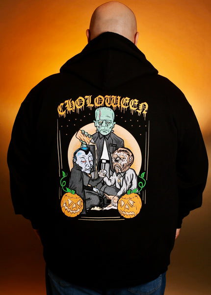 Choloween Zip Up Sweater