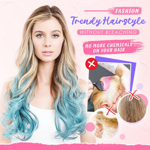 Hairadise™ Colored Clip-in Extensions Set