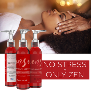 SENSE Relaxing Organic Body Oil | Every Day Use Massage Oil, Aroma Therapy, Natural Skin Moisturizer |100% Hypoallergenic | Made in the USA