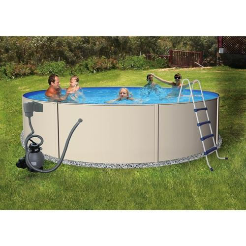 "24' Round 52"" Blue Lagoon Pool Package-Aqua Supercenter Outlet - Discount Swimming Pool Supplies"