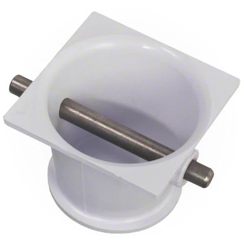 Custom Molded Products Parts Anchor Cup with Stainless Steel Bar 542044 White - 25568-000-000