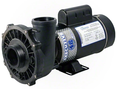 "Waterway Executive 4 HP Single Speed 48 Frame 2"" Pool Pump - 3411621-1A-Aqua Supercenter Pool Supplies"