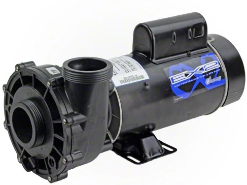 "Waterway Executive 3.0 HP 2 Speed 48 Frame 2"" Intake Pool Pump 3421221-1A-Aqua Supercenter Pool Supplies"