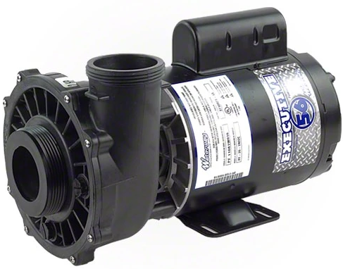 "Waterway Executive 3.0 HP 2 Speed 56 Frame 2.5"" Intake Pool Pump - 3721221-13-Aqua Supercenter Pool Supplies"