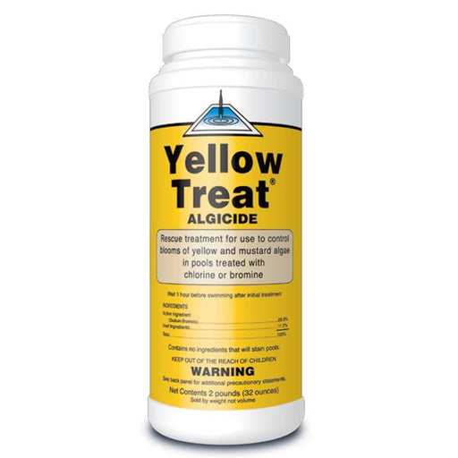United Chemical Yellow Treat Algaecide 2lb bottle