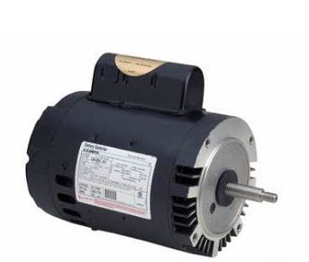 AO Smith 1 1/2  HP 230V 2 Speed 56J Replacement Motor - B977
