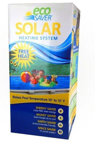 Eco Saver Solar Pool Heater 20 foot Panel - ES20SP-1-Aqua Supercenter Pool Supplies