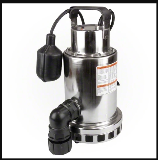 Pentair Stainless Steel Submersible Pump - PCD-1000-Aqua Supercenter Pool Supplies