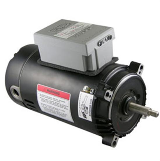 A.O Smith 1HP C- Face Emod Motor 56J - 1.1 SF-Aqua Supercenter Outlet - Discount Swimming Pool Supplies