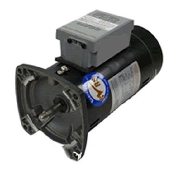 A.O Smith 1HP Emod Motor 56Y Square Face - 1.6SF-Aqua Supercenter Outlet - Discount Swimming Pool Supplies