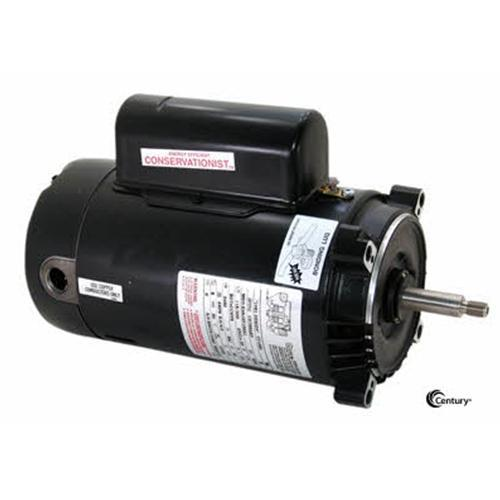 AO Smith 3/4 HP Full Rated Threaded Shaft Pump Motor - Energy Efficient-Aqua Supercenter Outlet - Discount Swimming Pool Supplies