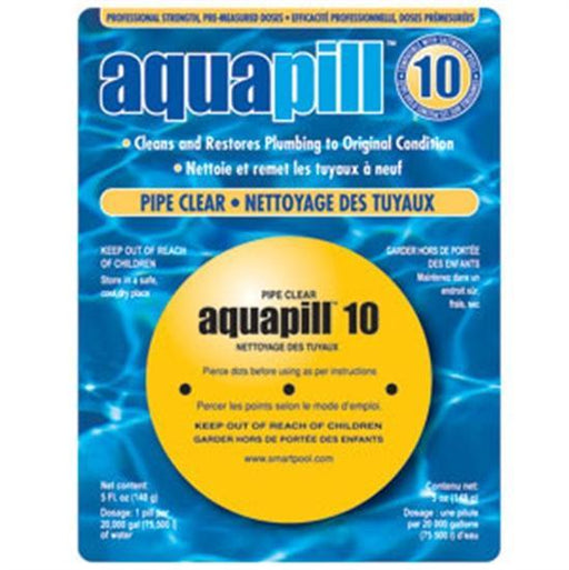 AquaPill 10 - Pipe Cleaner-Aqua Supercenter Outlet - Discount Swimming Pool Supplies
