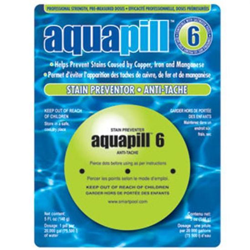 AquaPill 6 - Stain Preventer-Aqua Supercenter Outlet - Discount Swimming Pool Supplies