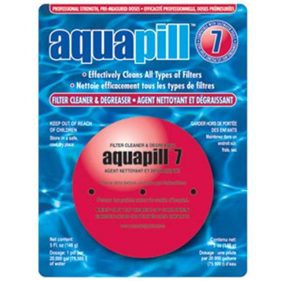 AquaPill 7 - Filter Cleaner - Degreaser-Aqua Supercenter Outlet - Discount Swimming Pool Supplies