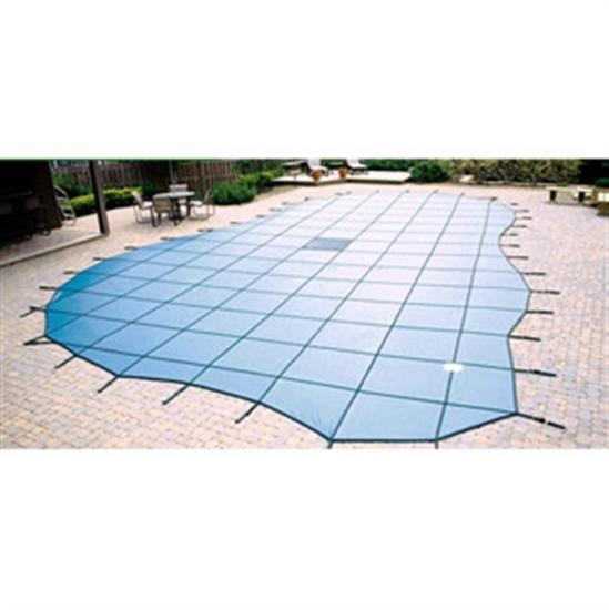 Arctic Armor Ultra Light Solid Safety Cover - Pool Size: 20' x 40' - Blue - 15 Yr Warranty-Aqua Supercenter Outlet - Discount Swimming Pool Supplies