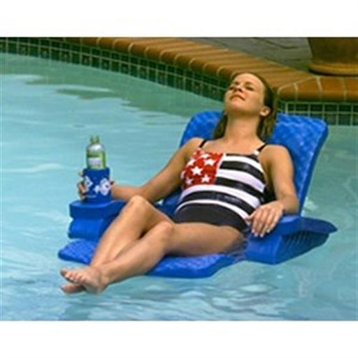 Baja Folding Chair - Blue-Aqua Supercenter Outlet - Discount Swimming Pool Supplies