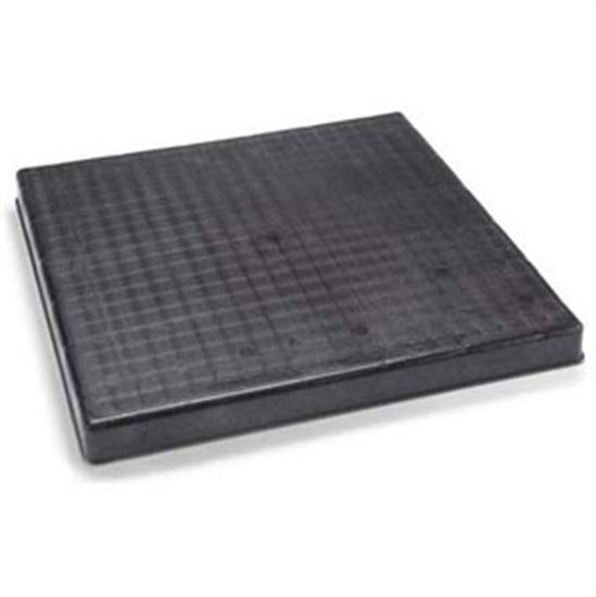 "Diversitech 24"" x 36"" x 2"" Filter Base Black Pad Molded Plastic-Aqua Supercenter Outlet - Discount Swimming Pool Supplies"