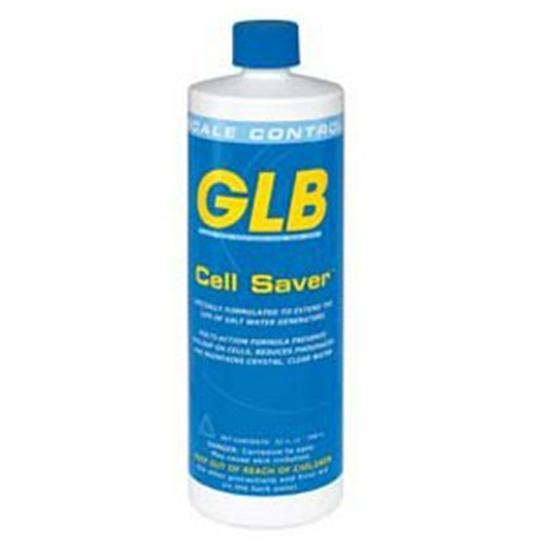 GLB Cell Saver Saltwater Stain and Scale 1 Quart - 1 Bottle-Aqua Supercenter Outlet - Discount Swimming Pool Supplies