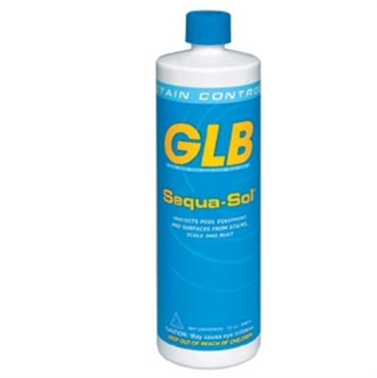 GLB Sequa Sol Stain Rust and Scale Remover 1 Quart-Aqua Supercenter Outlet - Discount Swimming Pool Supplies
