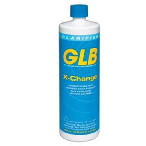 GLB X-Change Convert Baquacil to Chlorine 1 Quart - 12 Bottles-Aqua Supercenter Outlet - Discount Swimming Pool Supplies