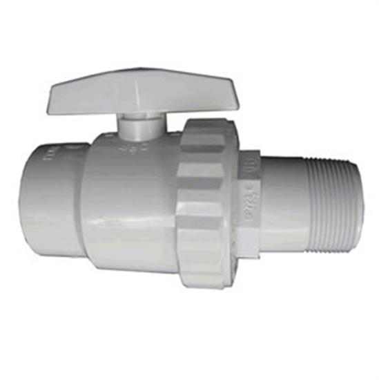 "Hayward 2 Way Trimline Ball Valve - 1.5""MPT x FPT-Aqua Supercenter Outlet - Discount Swimming Pool Supplies"
