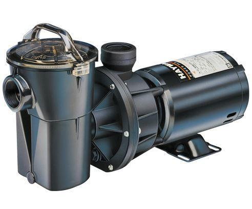 Hayward PowerFlo II 1 HP Single Speed Pool Pump - W3SP1780-Aqua Supercenter Pool Supplies