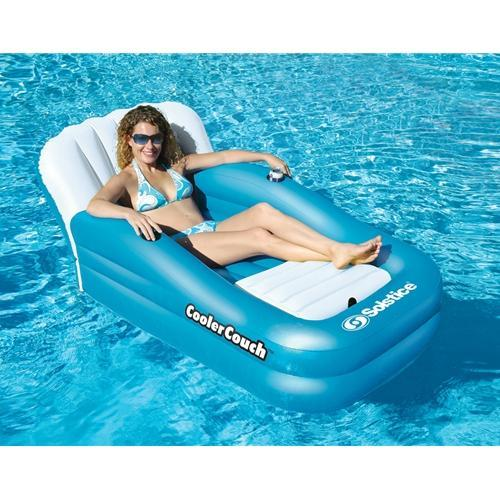 International Leisure Oversized Cooler Couch-Aqua Supercenter Outlet - Discount Swimming Pool Supplies