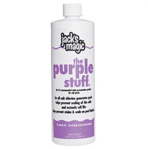 Jacks Magic The Purple Stuff 1qt-Aqua Supercenter Outlet - Discount Swimming Pool Supplies