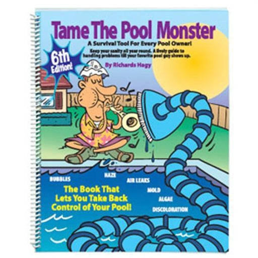 Limpid Tame The Pool Monster Book-Aqua Supercenter Outlet - Discount Swimming Pool Supplies