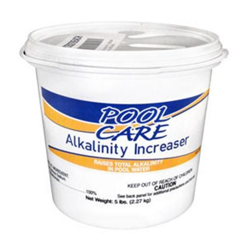 Pool Care Total Alkalinity Increaser - 5 lb Pail-Aqua Supercenter Outlet - Discount Swimming Pool Supplies