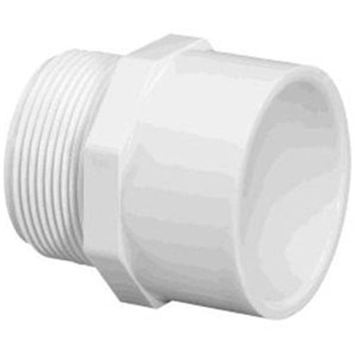 "PVC Threaded Male Adapter 1.5"" - 25 Pack-Aqua Supercenter Outlet - Discount Swimming Pool Supplies"