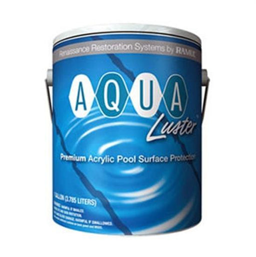 Ramuc AquaLuster White Acrylic Pool Coating Paint - 5 Gallon-Aqua Supercenter Outlet - Discount Swimming Pool Supplies