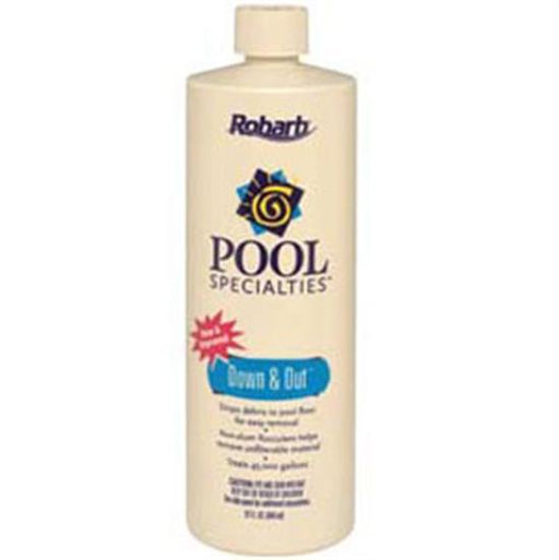 Robarb Down and Out Water Clarifier 1 Quart - 1 Bottle-Aqua Supercenter Outlet - Discount Swimming Pool Supplies
