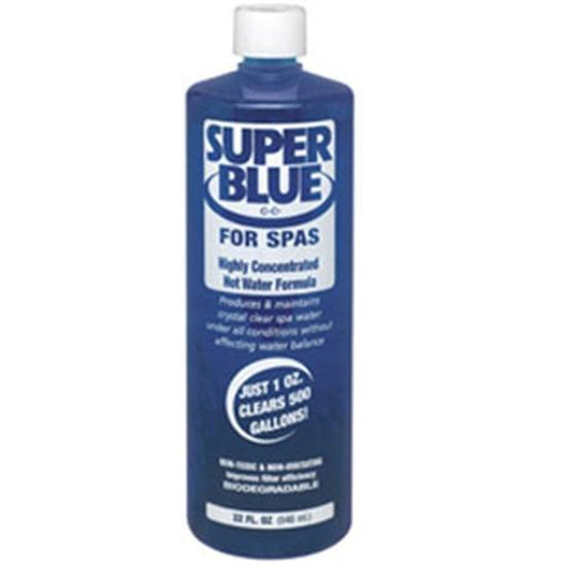 Robarb Super Blue Water Clarifier for Pools 1 Quart - 12 Bottles-Aqua Supercenter Outlet - Discount Swimming Pool Supplies