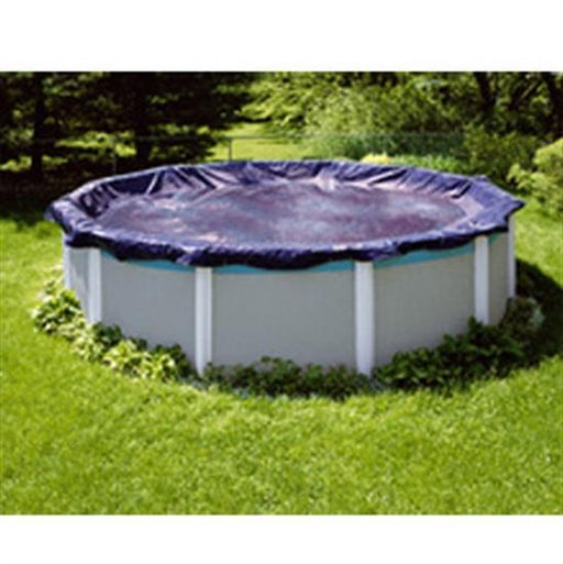Royal Above Ground Winter Cover - 24' Pool Size - 27' Round Cover - 3 ft Overlap-Aqua Supercenter Outlet - Discount Swimming Pool Supplies