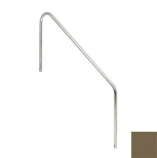 SR Smith 2 Bend 4' High Standard Length Hand Rail - Marine Grade-Aqua Supercenter Outlet - Discount Swimming Pool Supplies
