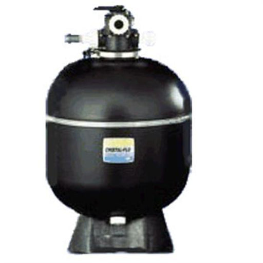 "Sta-Rite 17"" Cristal Flo Sand Filter Top Mount 1.5"" FPT With 6 Position Valve-Aqua Supercenter Outlet - Discount Swimming Pool Supplies"