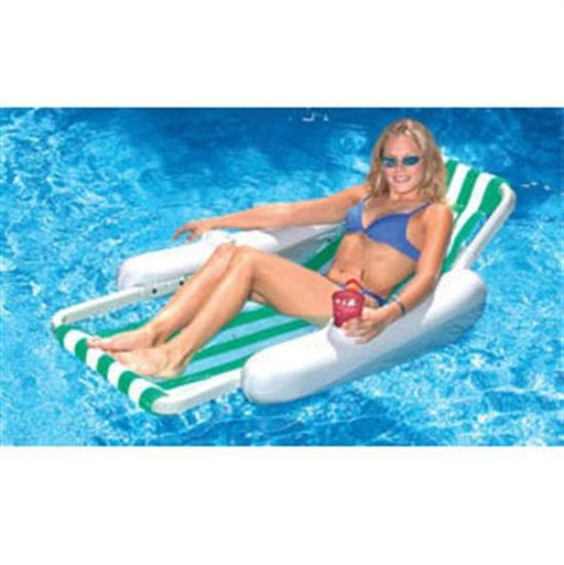 Sunchaser Sling Floating Pool Lounger-Aqua Supercenter Outlet - Discount Swimming Pool Supplies