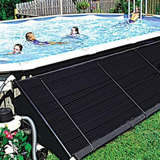 "SunGrabber Standard Above-Ground Solar System, incl. 6 - 2' x 20' Panels w- 2 add-on kits (1-1/2"" Header)-Aqua Supercenter Outlet - Discount Swimming Pool Supplies"