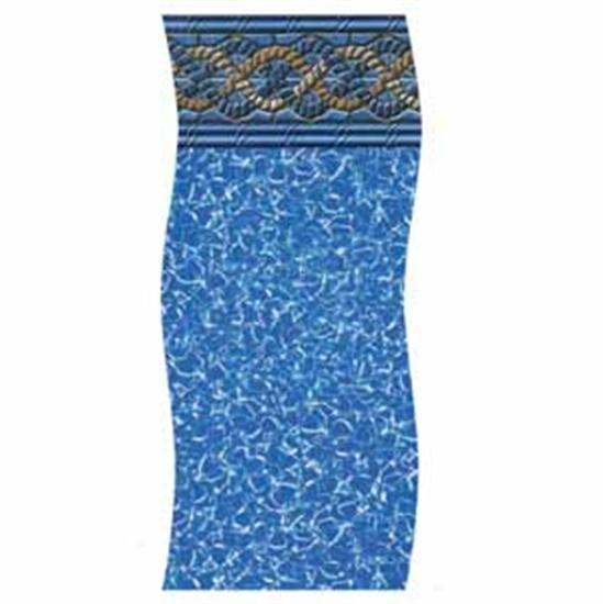 "Swimline H-G Gold Coast 48"" Unibead Vinyl Liner - 11' x 18' Oval-Aqua Supercenter Outlet - Discount Swimming Pool Supplies"