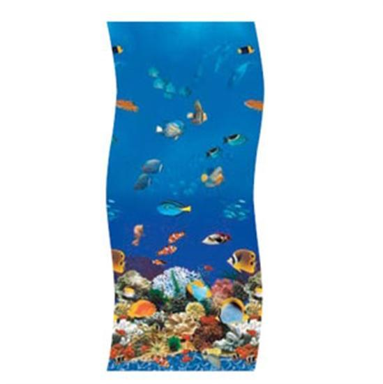 Swimline S-G Ocean Reef Overlap Vinyl Liner - 12' x 17' Oval-Aqua Supercenter Outlet - Discount Swimming Pool Supplies